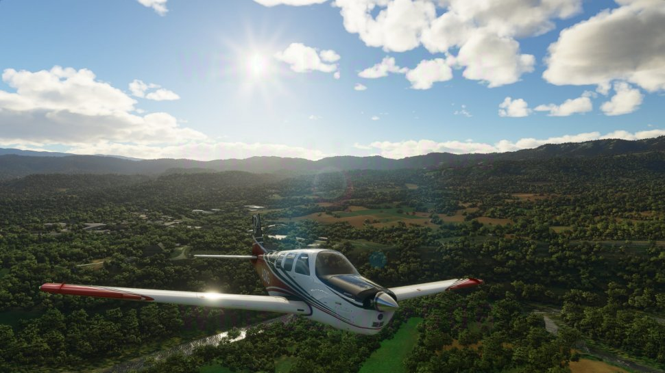 Microsoft Flight Simulator: Soon to be flying through the air in helicopters