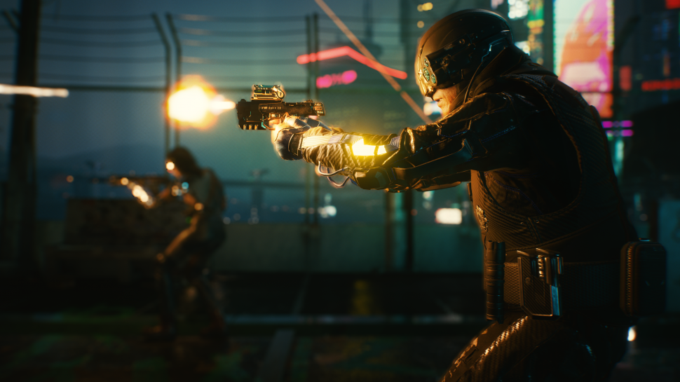 Cyberpunk 2077: There is an unfinished monorail system in Night City
