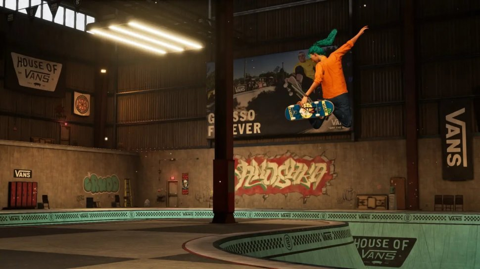 Tony Hawks Pro Skater 1 + 2: Stormwind recreated in the map editor