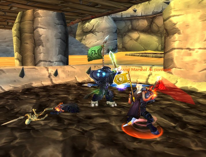 WoW: Role players found underground fighting clubs