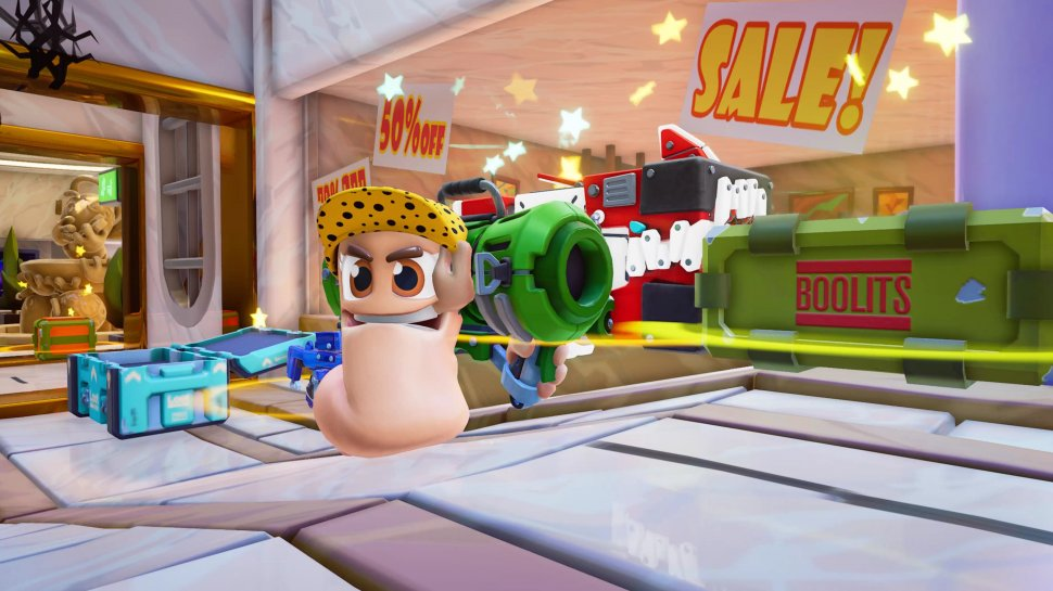 Worms Rumble: Does the real-time action worm?
