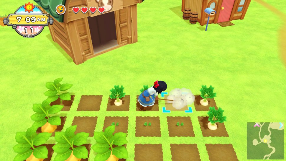 Harvest Moon: One World: Virtual Country Life Preview