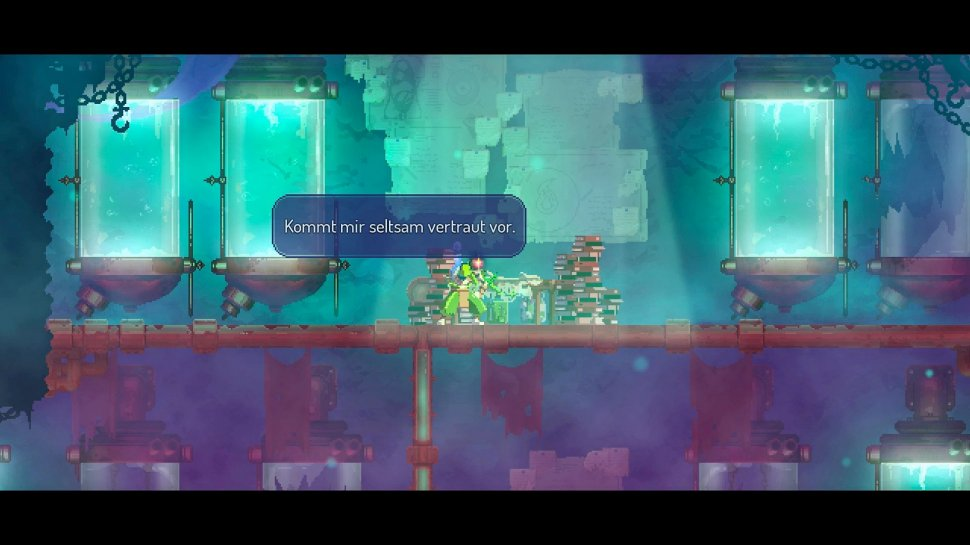 Dead Cells: Fatal Falls - the DLC for the rogue-like in the test
