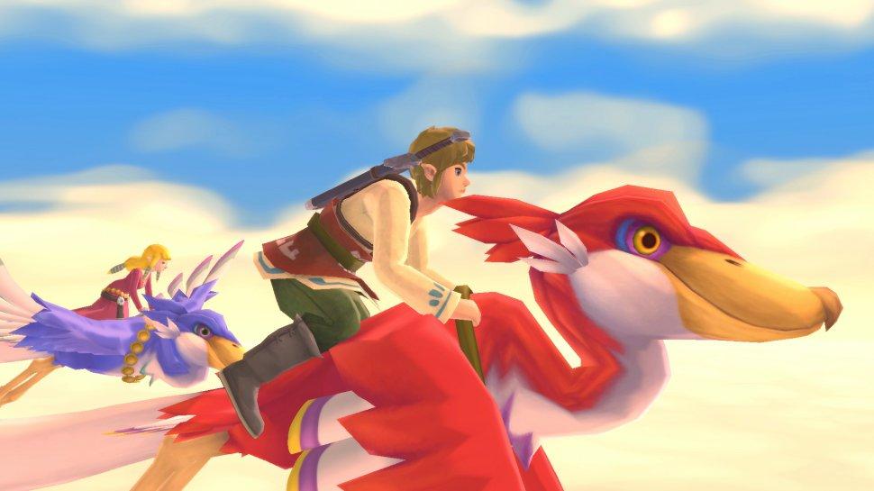 Zelda: Skyward Sword HD - Switch vs. Wii graphics comparison