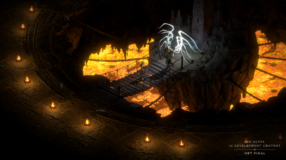 Diablo 2: Resurrected - Beware of false alpha actions