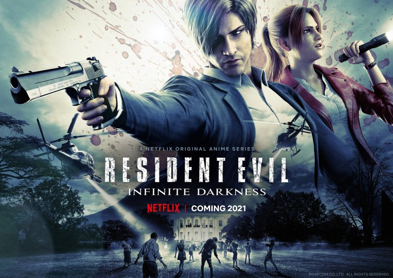 Resident Evil Infinite Darkness: Trailer with the start date of the Netflix series