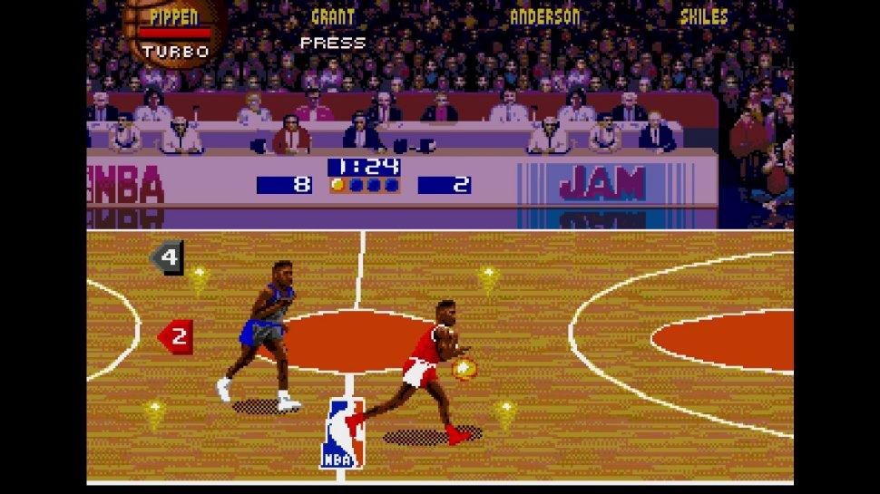 16 Days 16 Bit: Day 4 - NBA Jam Tournament Edition