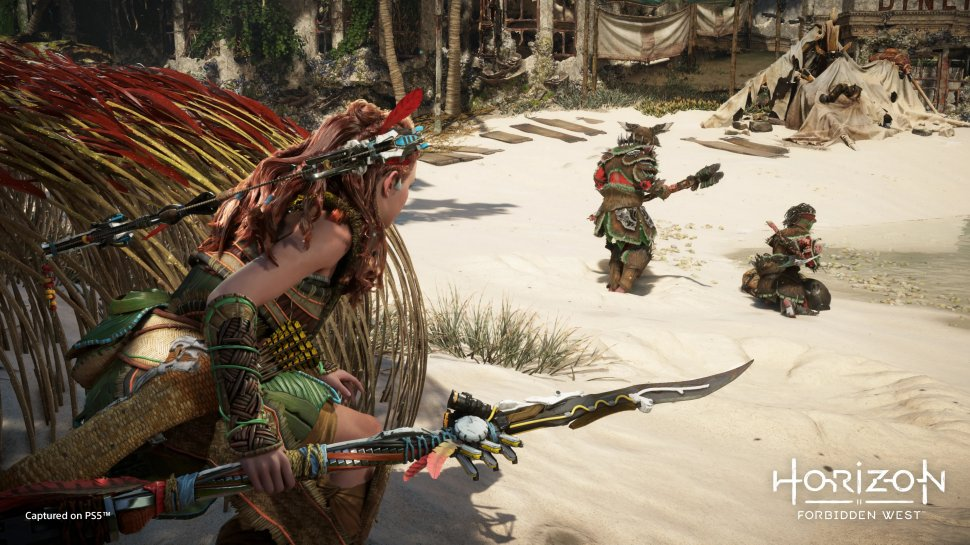 Horizon Forbidden West: First PS5 gameplay in the video - with new details & screenshots