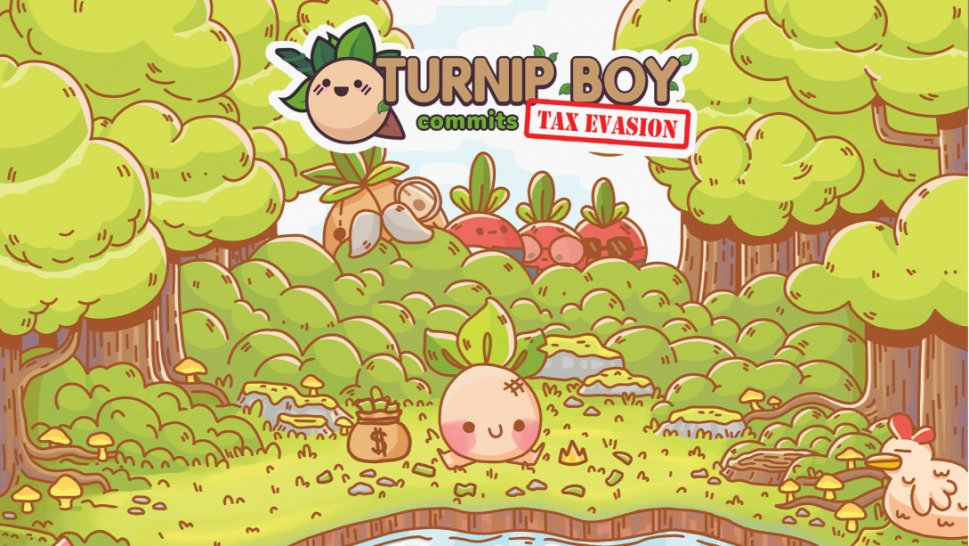 Turnip Boy Commits Tax Evasion Review: Tax as an Adventure