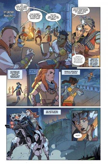 Horizon Zero Dawn: competition + review of the comic sun hawk