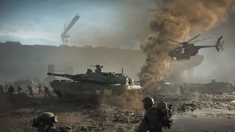 Battlefield 2042: Teaser for the new game mode, DICE brings retro maps