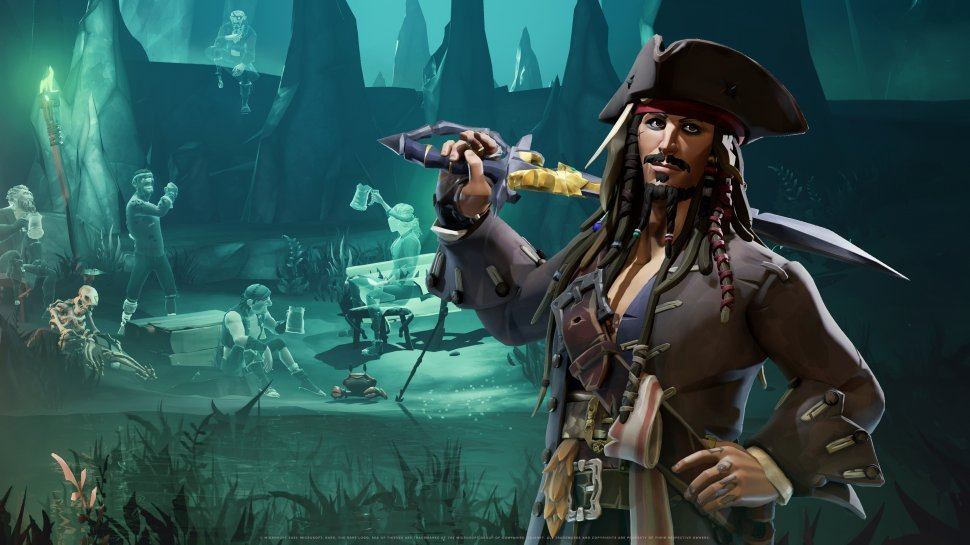 Sea of Thieves: This awaits you pirate crossover with Jack Sparrow