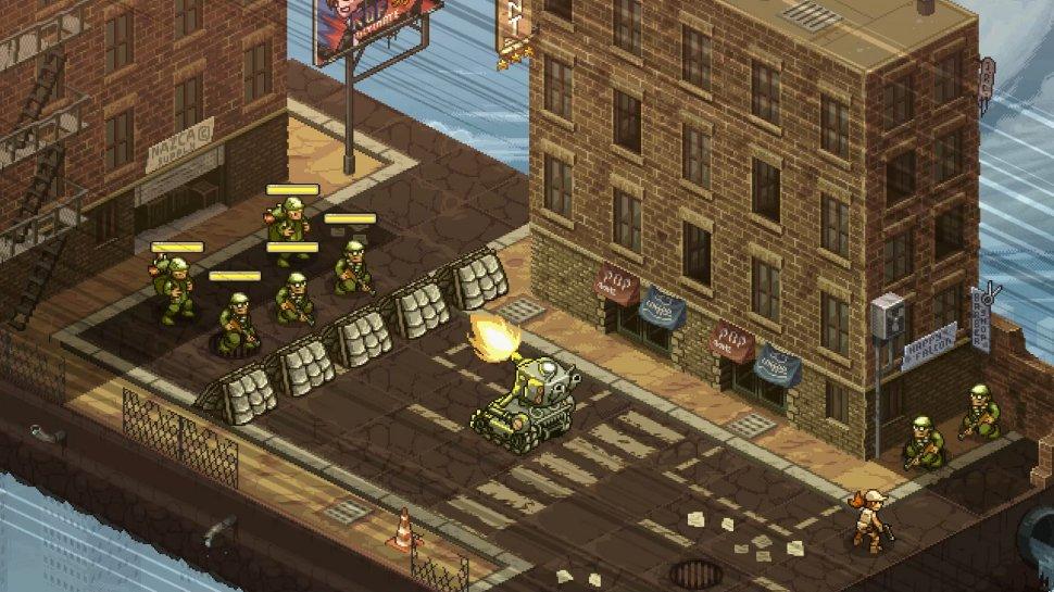 Metal Slug Tactics: Classic returns as a tactical game for the PC