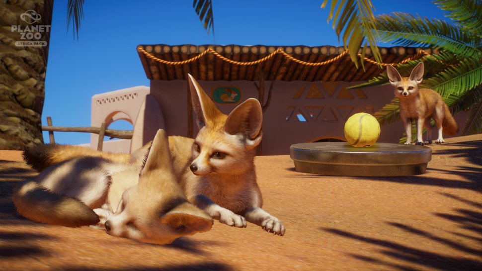 Planet Zoo: Africa Pack announced, release soon