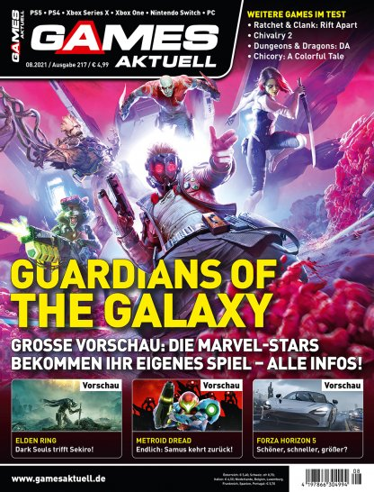 Games Aktuell 08/21: previews of Forza, Elden Ring and more