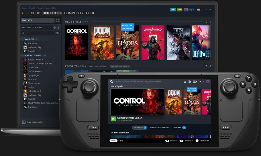 Steam Deck: All games run at at least 30 FPS