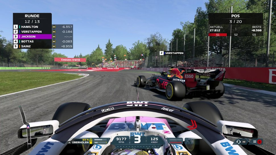 F1 2021: Update 1.07 for download - these changes are in the patch