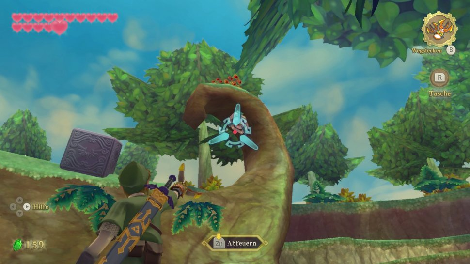 Zelda: Skyward Sword - Buy and refine potions - Tips on raw materials