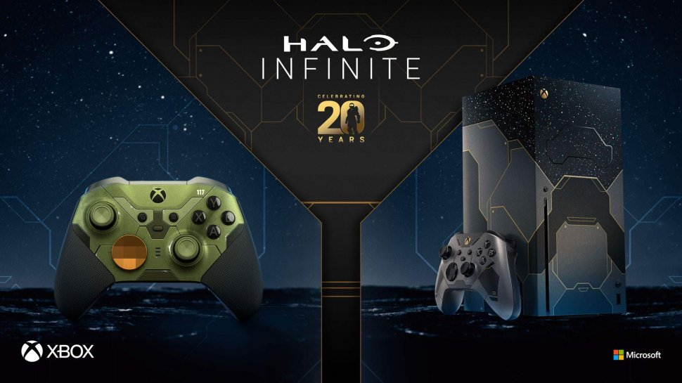 Halo Infinite: release date confirmed & limited Xbox Series X in Halo design
