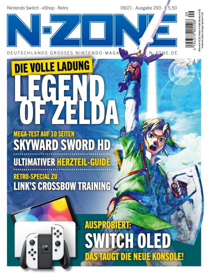 N-ZONE 09/21: Switch OLED, Skyward Sword and much more!