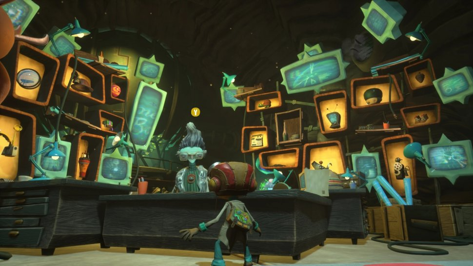Psychonauts 2: The (almost) impossible sequel in the test + video