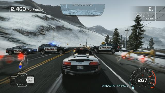 need for speed hot pursuit im test f r ps3 und xbox 360. Black Bedroom Furniture Sets. Home Design Ideas