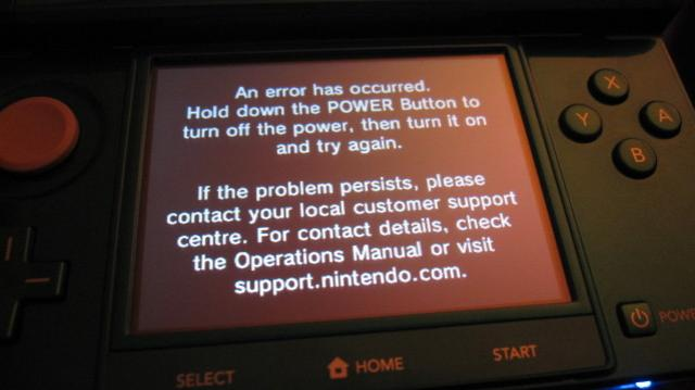 Nintendo 3ds Black Screen Of Death Besitzer Berichten Von