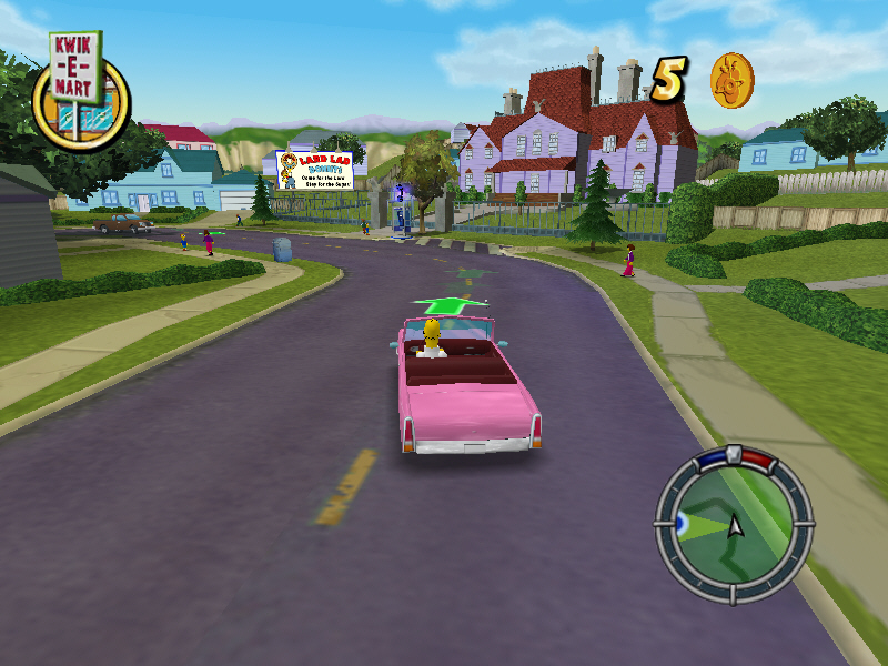 The Simpsons: Hit & Run: The Simpsons GTA in a retro special