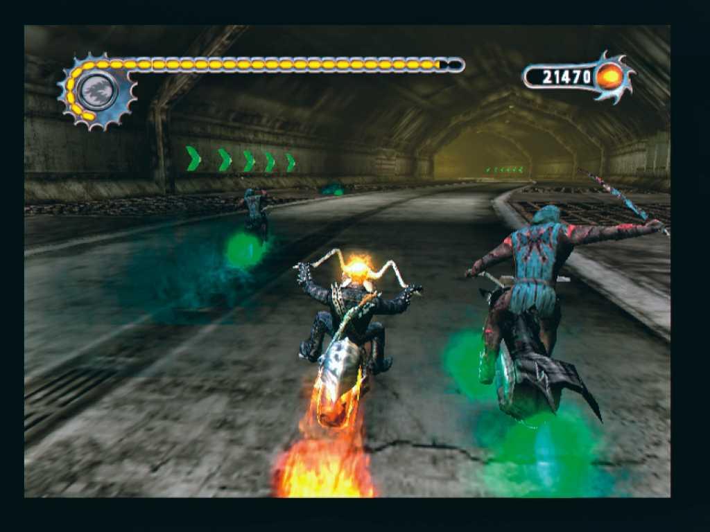 ghost rider spiele