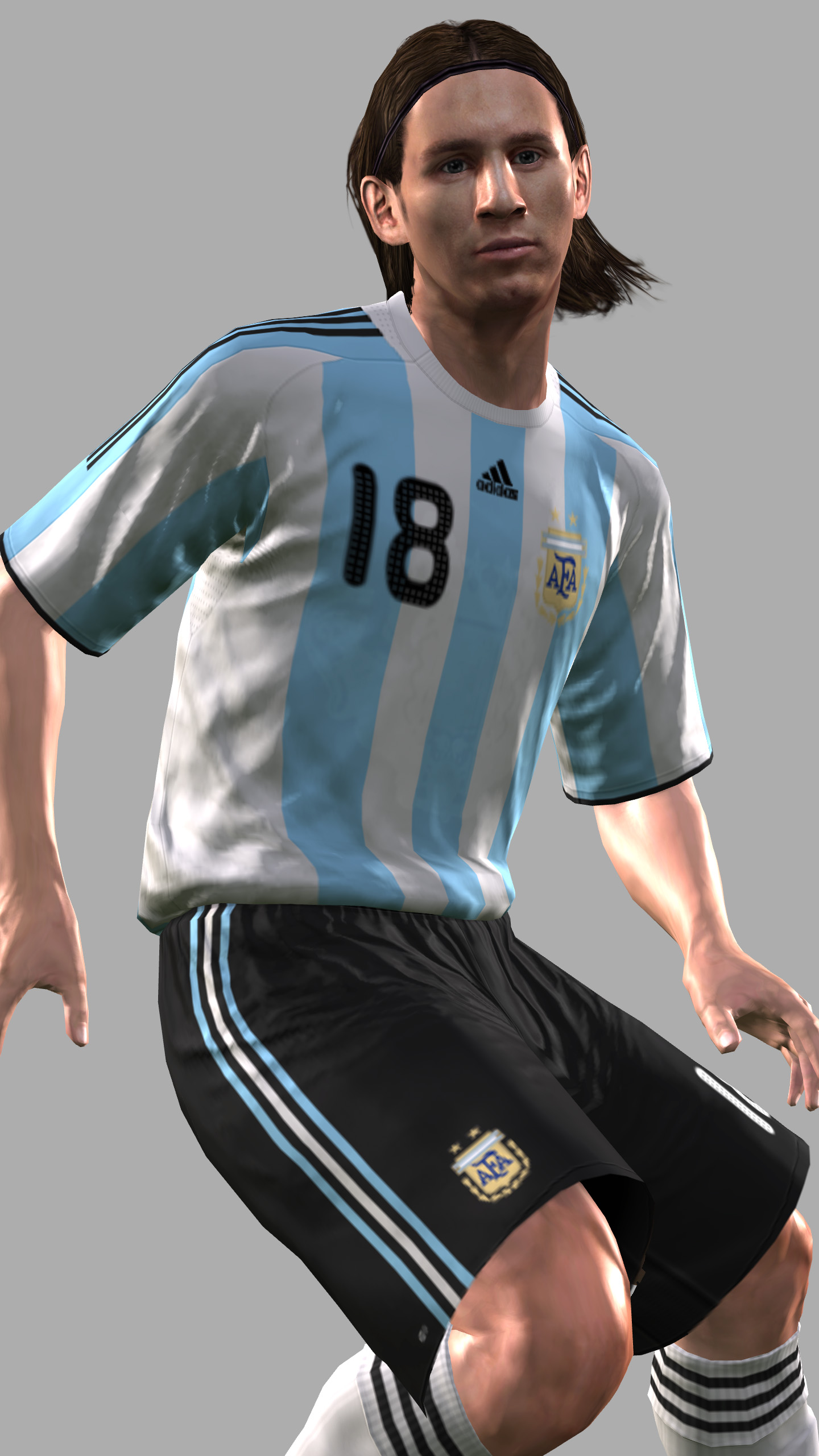Soccer super star Lionel Messi