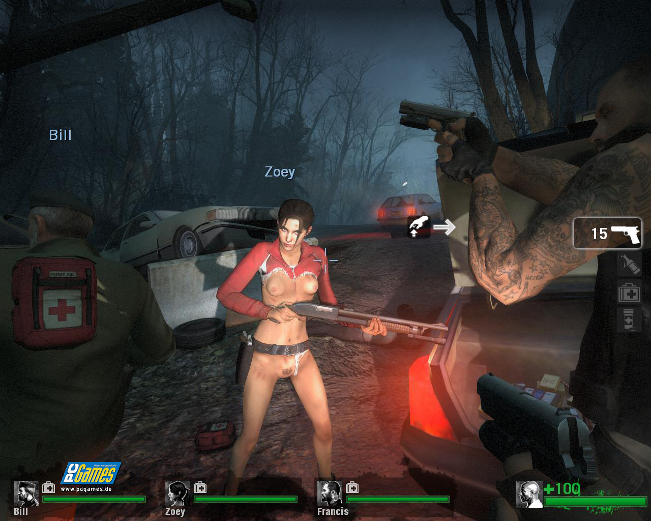 Left 4 dead 2 zoey nude site  erotic comic