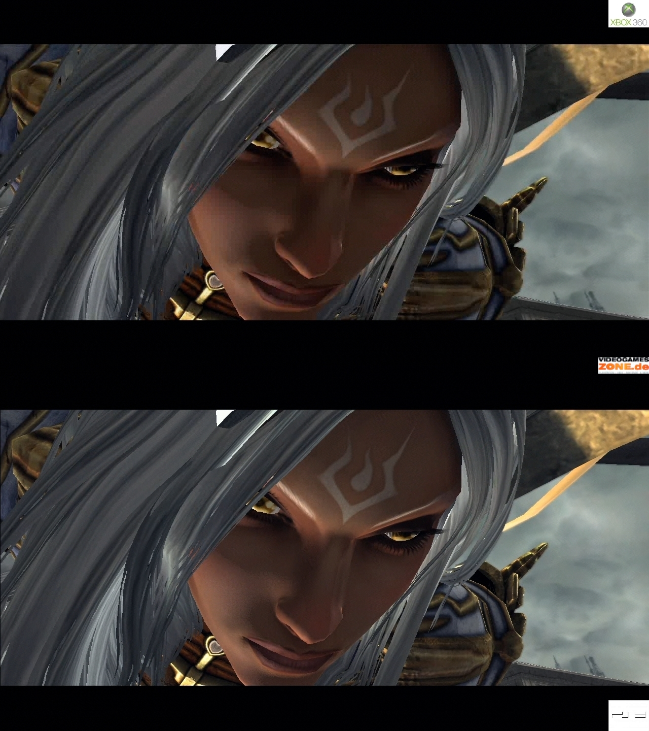 Darksiders Graphic Comparison  Xbox 360 vs  PS3Xbox 360 Vs Ps3 Graphics