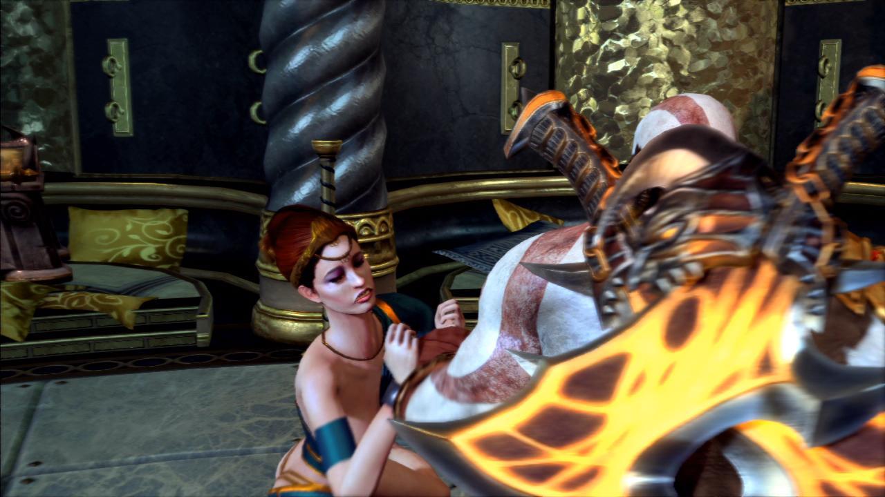God Of War 3 - Sex Mini Game -