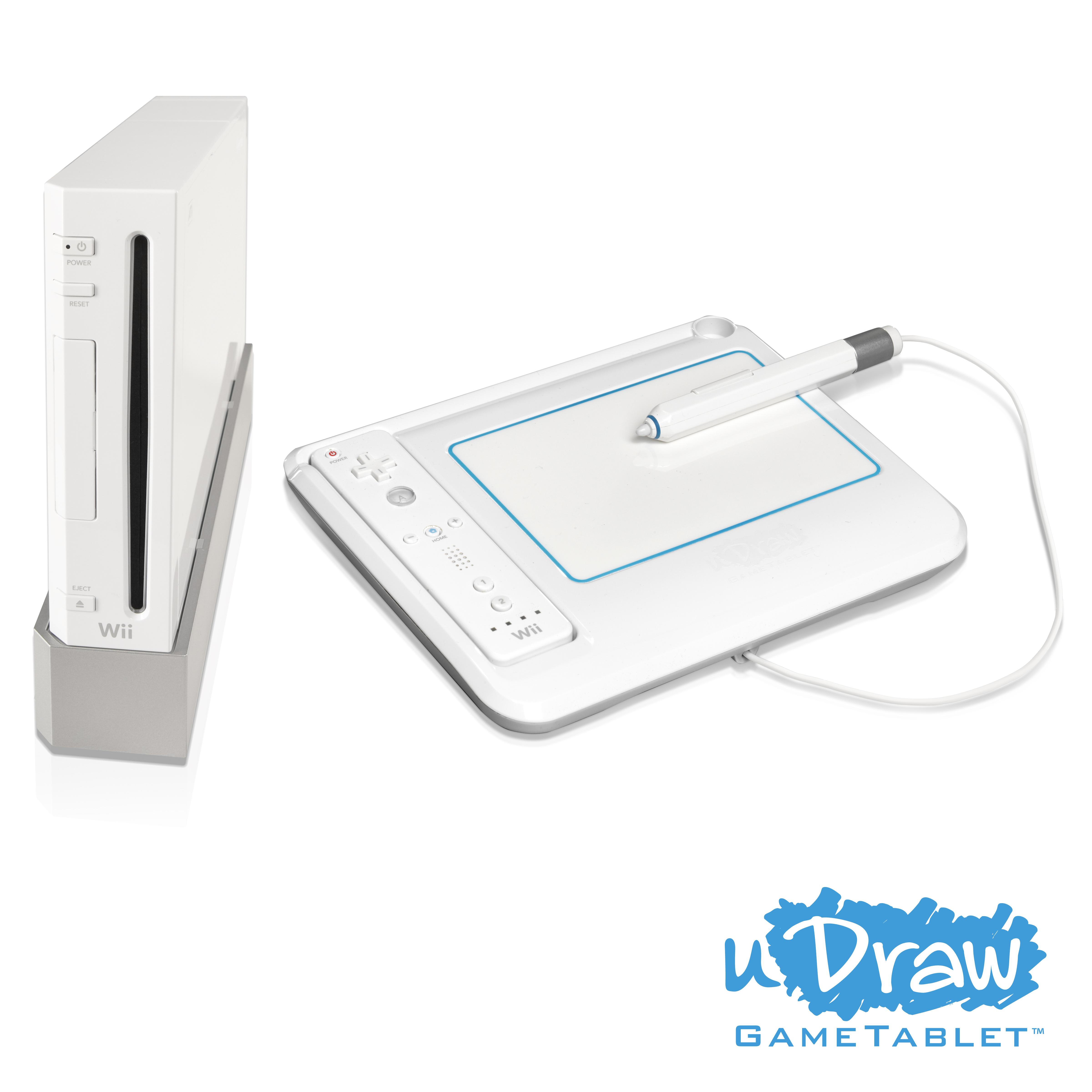 Wii Tablet und uDraw im Hands-On-Test: Kein reines Zeichenbrett für ...
