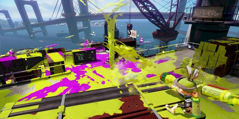 Splatoon: Neues Video zum knallbunten Action-Shooter.