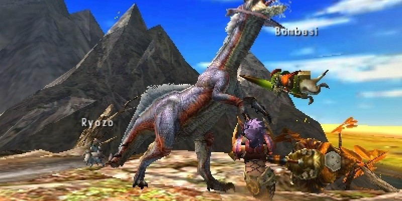 Monster Hunter 4 - Capcom spendiert Gratis-3DS-Theme