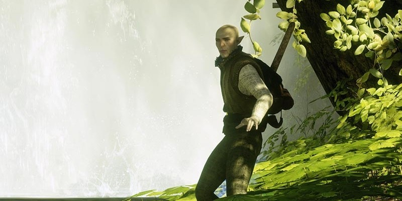 Dragon Age: Inquisition - Solas im Charakter-Profil.