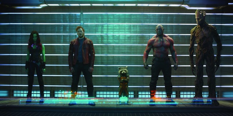 Guardians of the Galaxy stürmt die Kinocharts. (2)