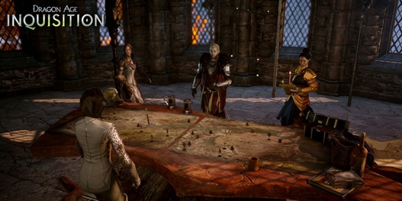 Dragon Age: Inquisition - War Table und Berater im Interview. (2)