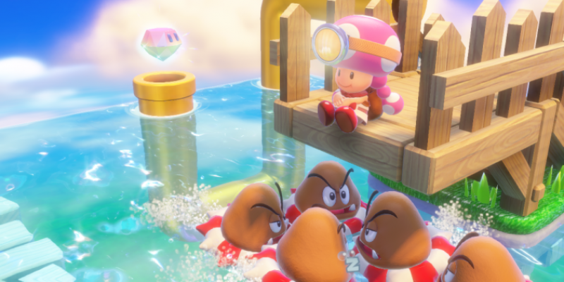 Captain Toad Treasure Tracker - Amiibo-Features des Wii U-Spiels im Trailer