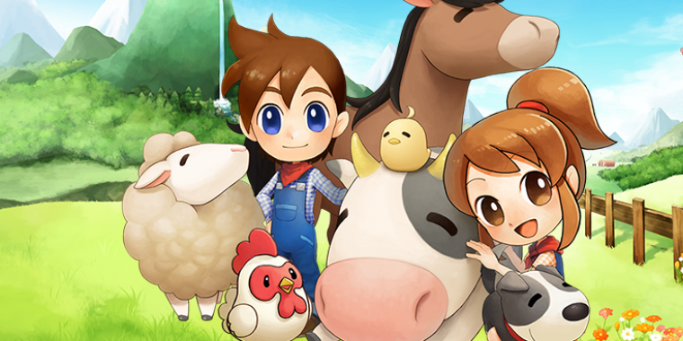 Harvest Moon - Wii U-Debüt angekündit (im Bild: Harvest Moon The Lost Valley für 3DS)