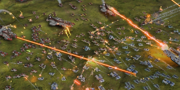 Nvidias Treiber sollen Schuld an der miesen DirectX 12-Performance im Ashes of the Singularity-Benchmark sein.
