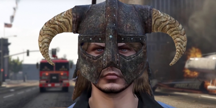 GTA 5 meets Skyrim.