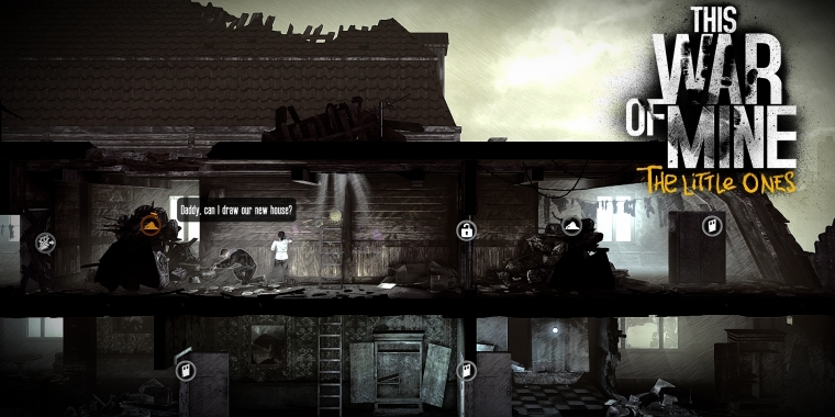 This War of Mine: The Little Ones erscheint im Januar 2016 für PS4 und Xbox One.