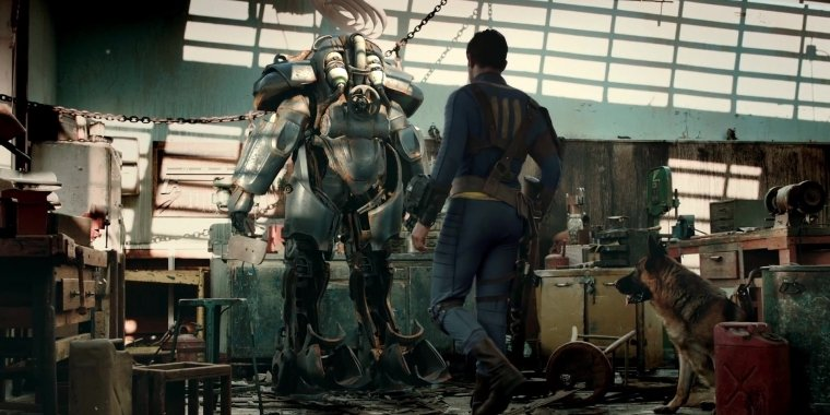 "Fallout 4: Live-Action-Trailer ""The Wanderer"""