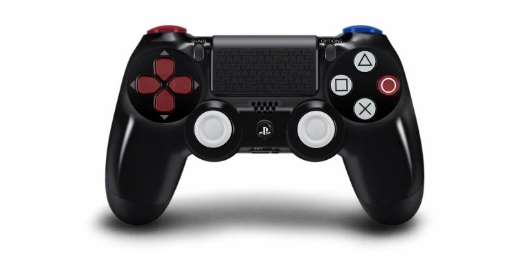 Star Wars: Battlefront: Darth Vader Edition des Dual Shock 4-Controllers erscheint am 19. November 2015.