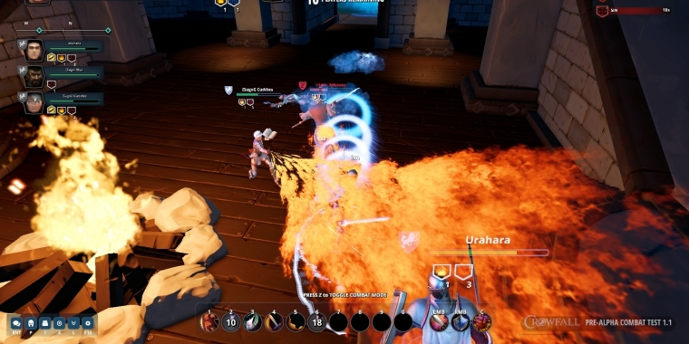 "Crowfall: So spielt sich der PvP-Modus ""Hunger Dome"" in der Alpha - Video"