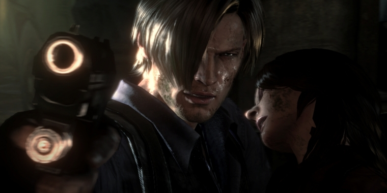 Leon S. Kennedy in Resident Evil 6 Remaster für PS4