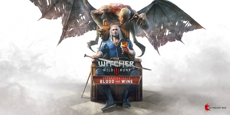 Das Cover-Artwork zu The Witcher 3: Blood and Wine
