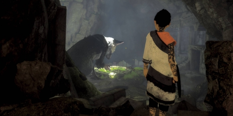 Neue Screenshots zu The Last Guardian enthüllt.